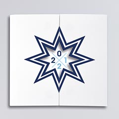 carte Star bleu