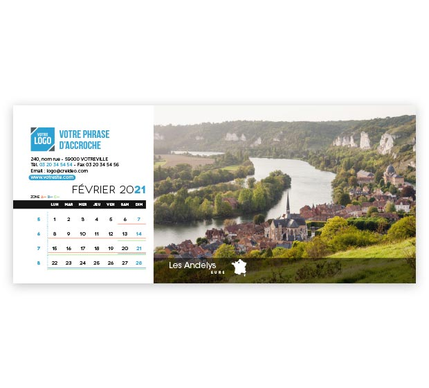 calendrier Allongé - Photo 8