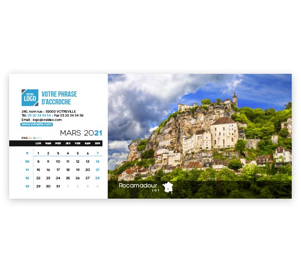 calendrier Allongé - Photo 9