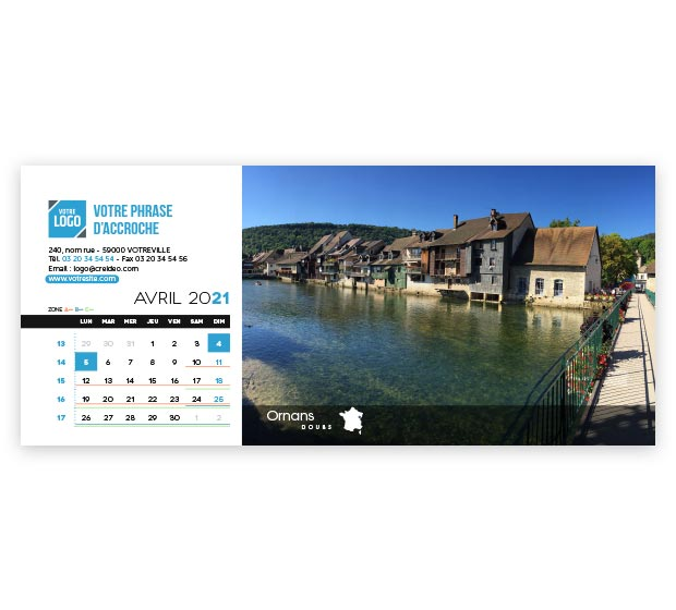 calendrier Allongé - Photo 10