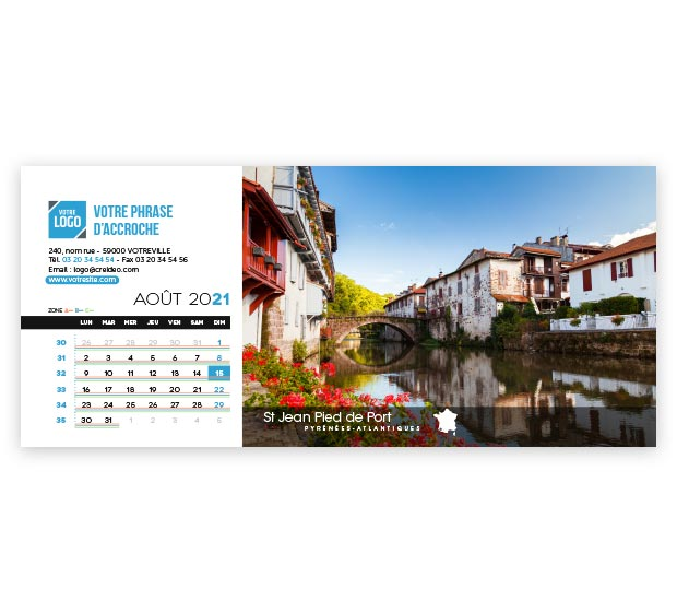 calendrier Allongé - Photo 14