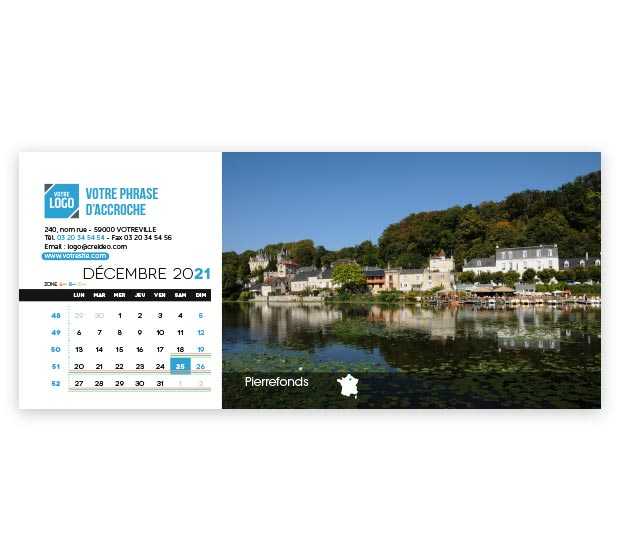 calendrier Allongé - Photo 18