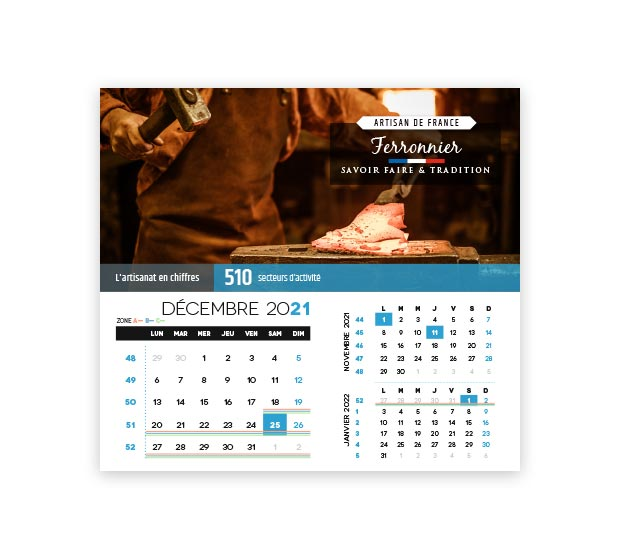 Calendrier integral - Photo 18