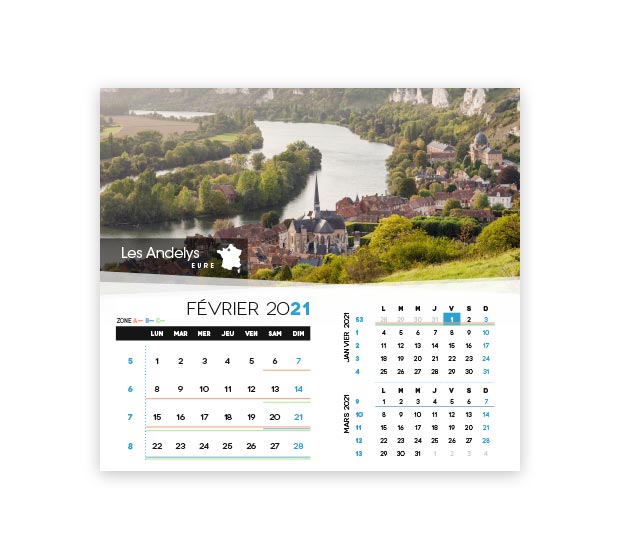 calendrier integral - Photo 8