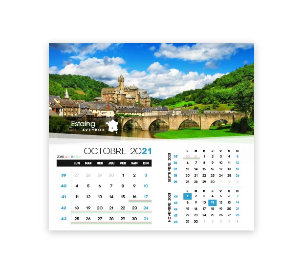 calendrier integral - Photo 16