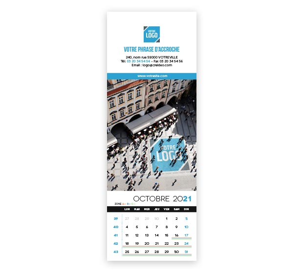 Calendrier Longo logo - Photo 16