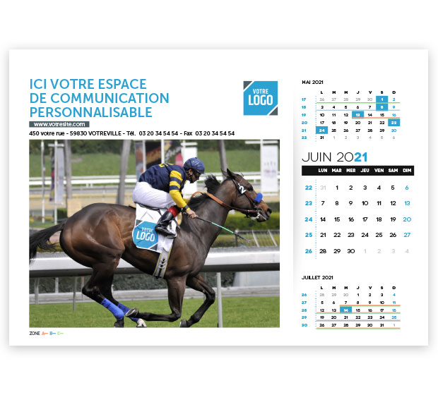 calendrier Prestige logo - Photo 13