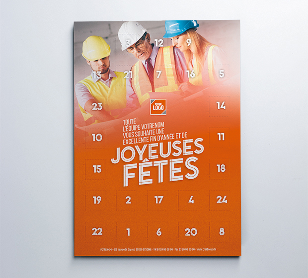 carte Calendrier de l'avent - Photo 3